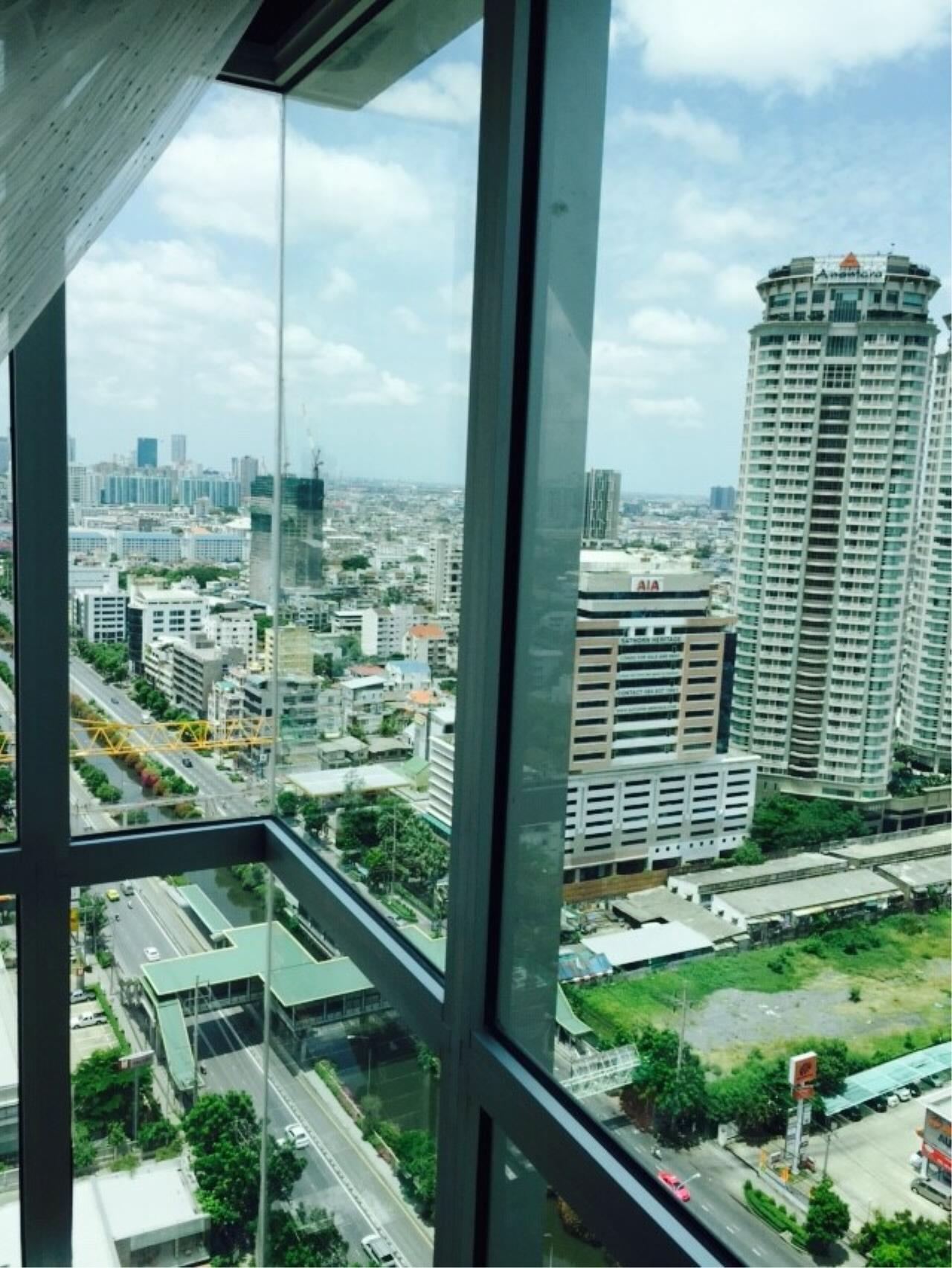 Quality Life Property Agency's S A L E WITH TENANT < Rhythm Sathorn - Narathiwas > 2BR 60.7 SQ.M. NICE DECORATION 17