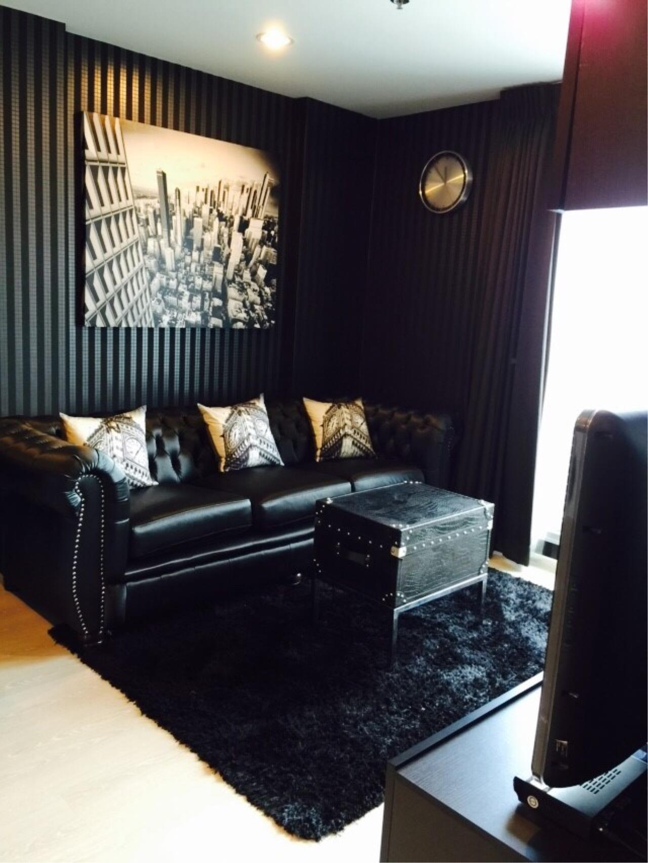 Quality Life Property Agency's S A L E WITH TENANT < Rhythm Sathorn - Narathiwas > 2BR 60.7 SQ.M. NICE DECORATION 2