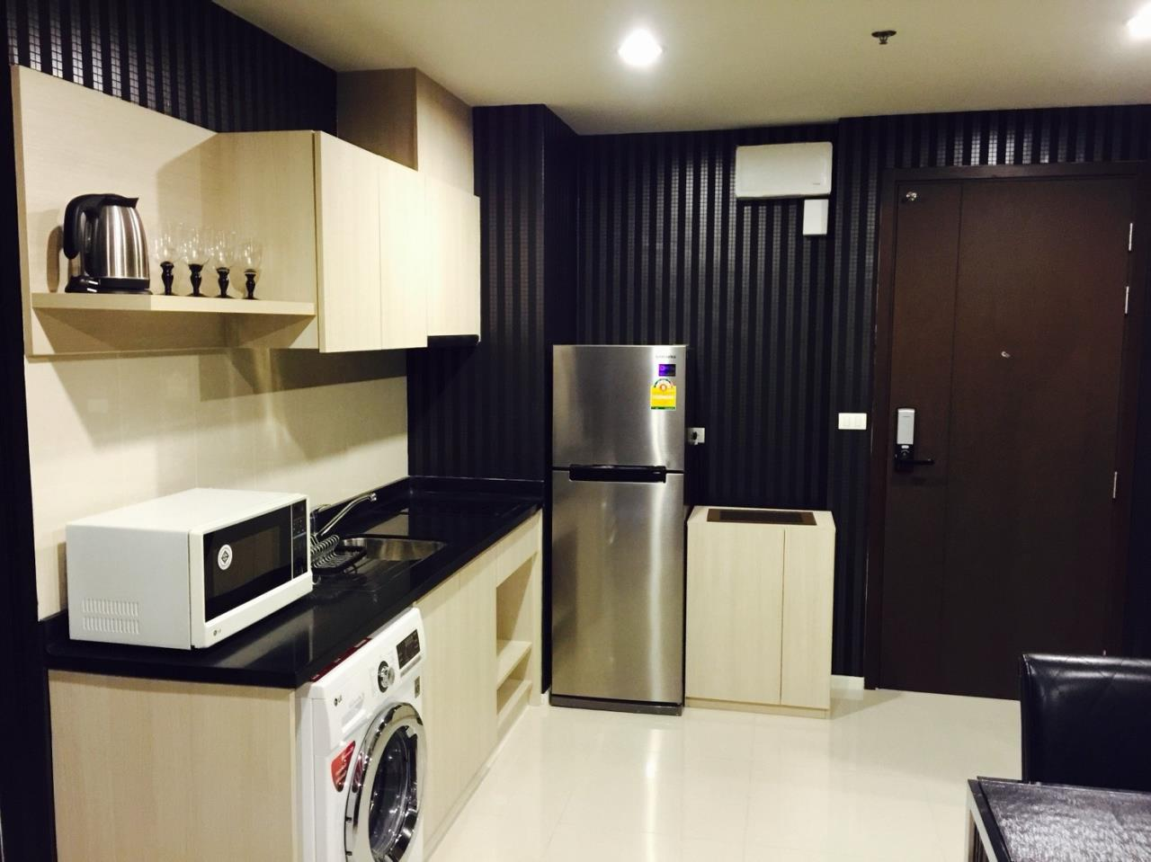 Quality Life Property Agency's S A L E WITH TENANT < Rhythm Sathorn - Narathiwas > 2BR 60.7 SQ.M. NICE DECORATION 4