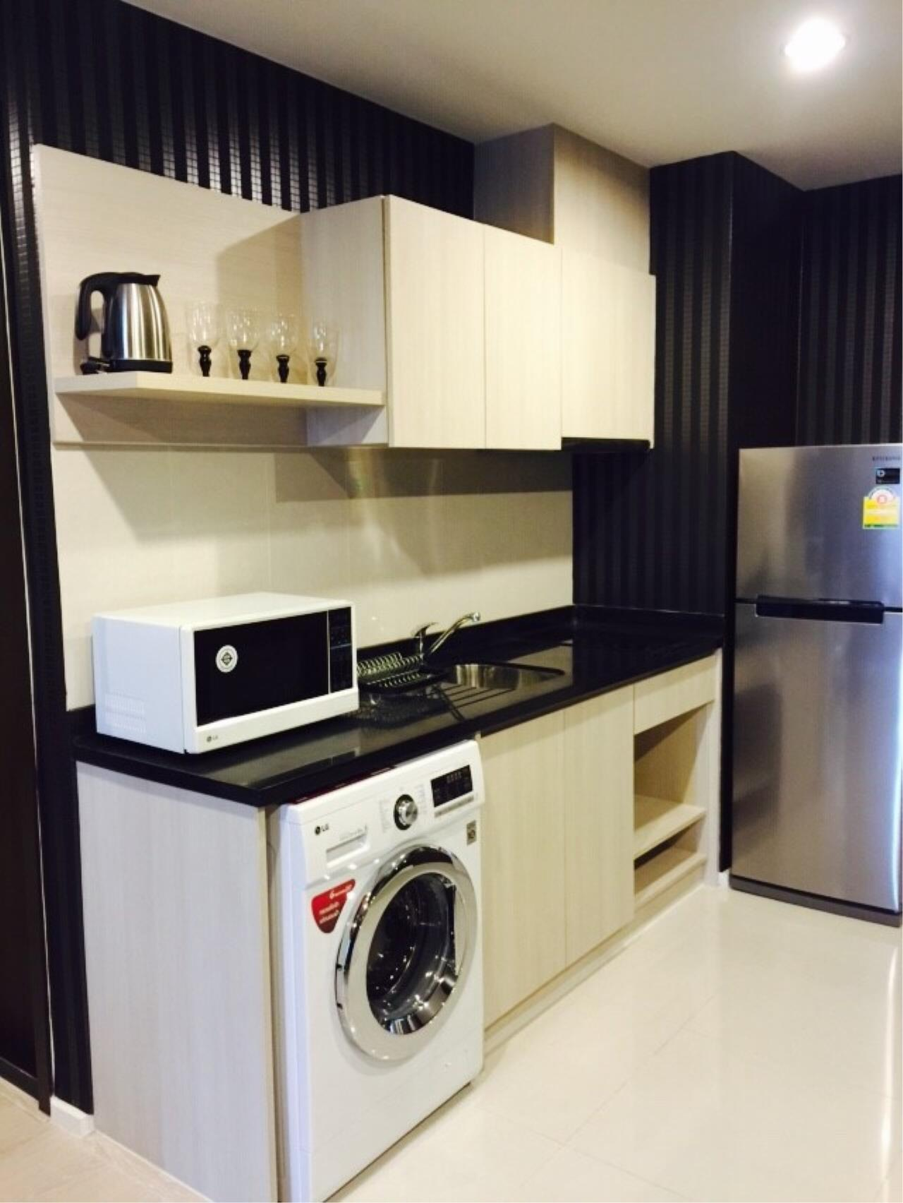 Quality Life Property Agency's S A L E WITH TENANT < Rhythm Sathorn - Narathiwas > 2BR 60.7 SQ.M. NICE DECORATION 5