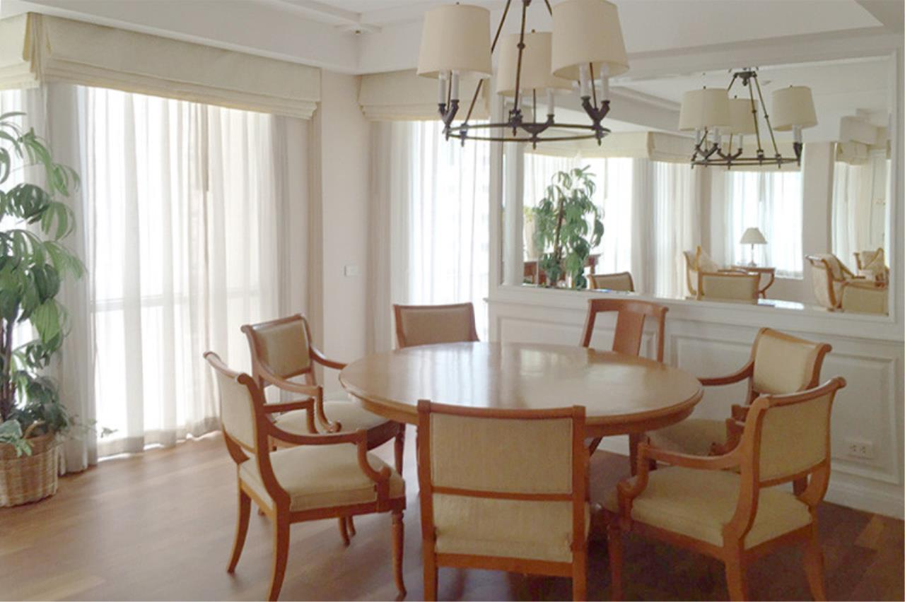 Quality Life Property Agency's ****  S A L E **** LANGSUAN VILLE CONDO IN PLOENCHIT NEAR BTS CHITLOM 300  SQM. 3 BED 6