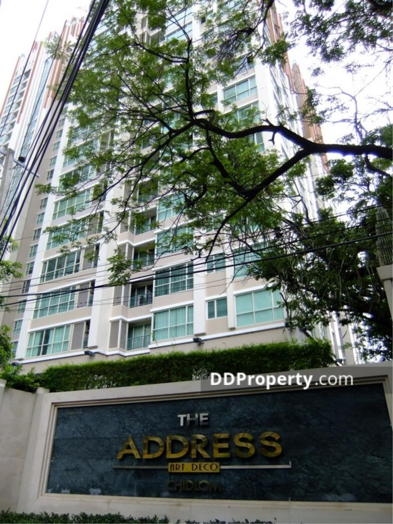 Quality Life Property Agency's FOR RENT The Address Chidlom / 1 Bedroom / 12 Floor 1