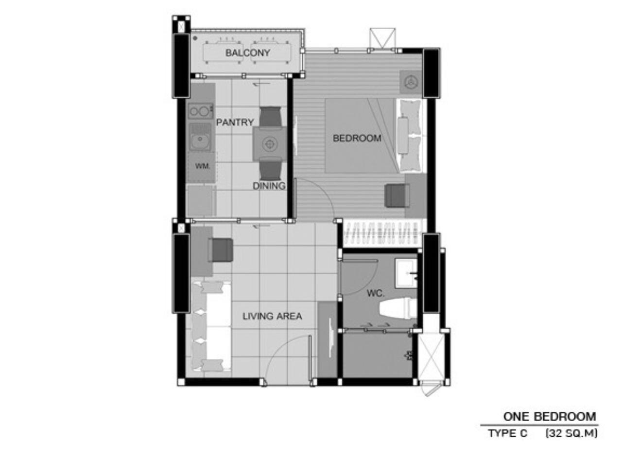Quality Life Property Agency's Condo Aspire Sukhumvit 48 [SALE     ] 5