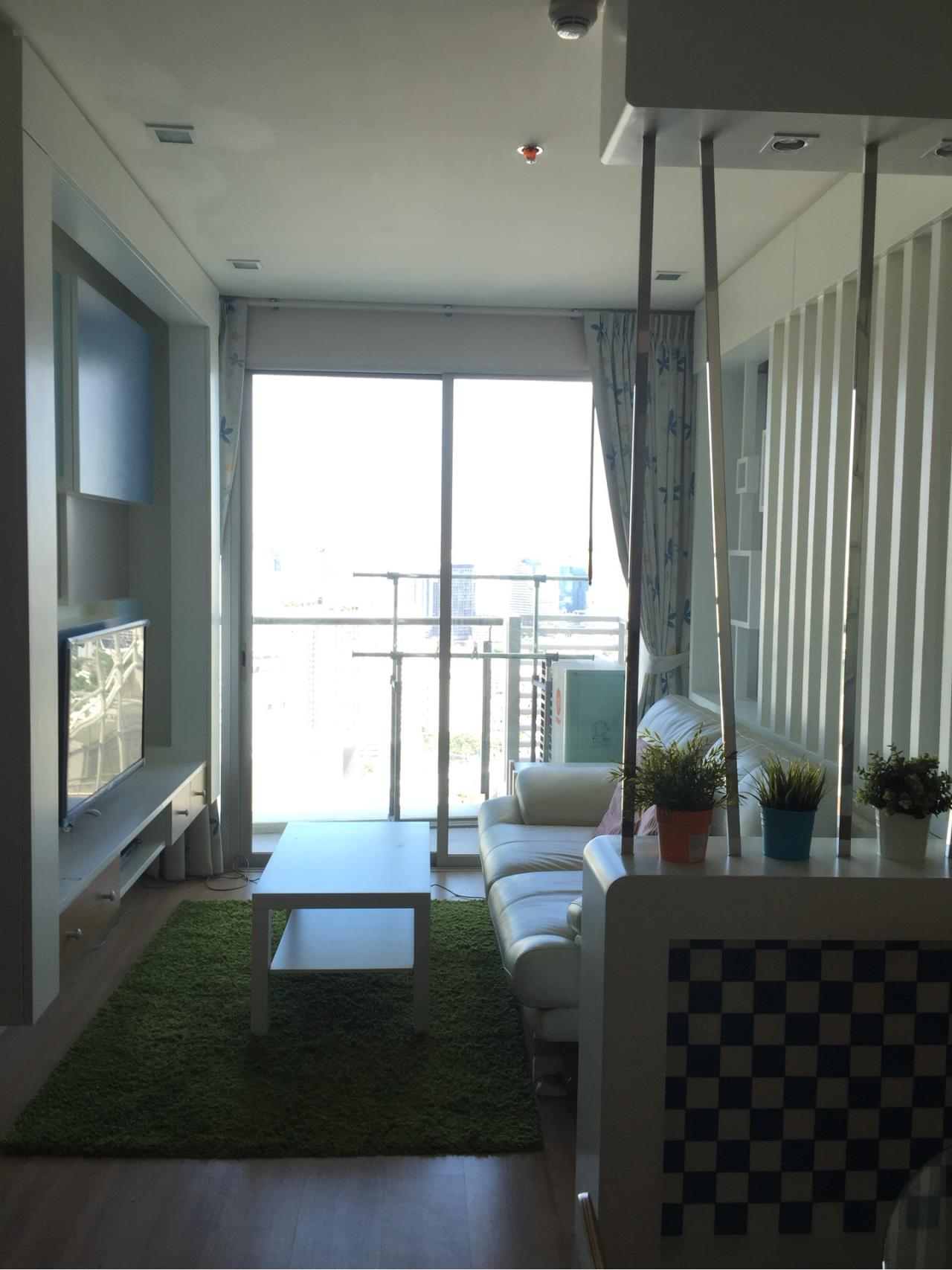 Quality Life Property Agency's For Rent  ! ! [ SKY WALK ] 2 BR 60 SQ. M. NICE DECORATION 6