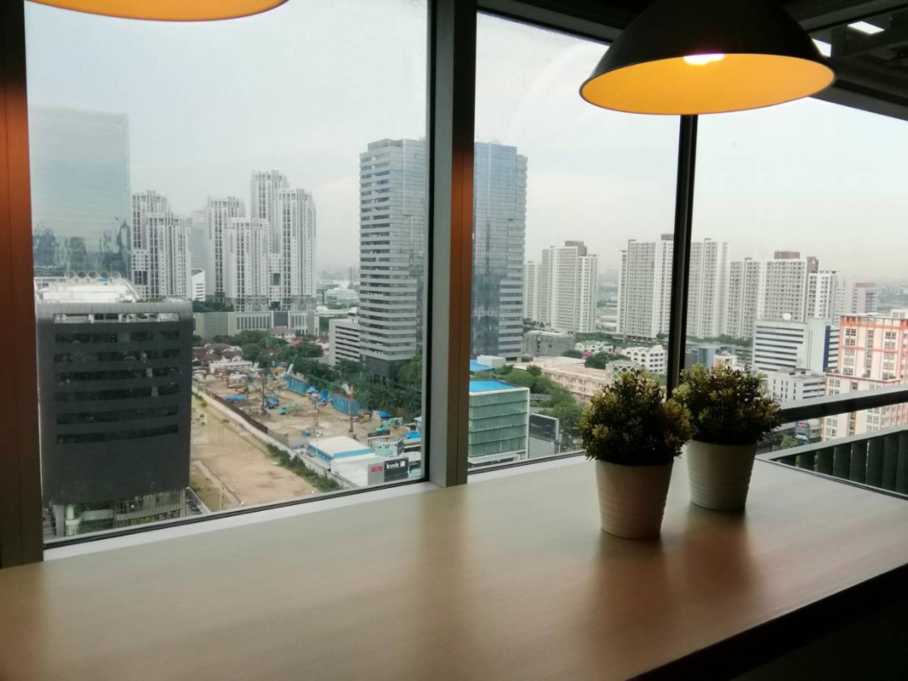 Quality Life Property Agency's CONDO FOR SALE!!! Aspire Rama 9 / 1 Bedroom / 20 Floor 4
