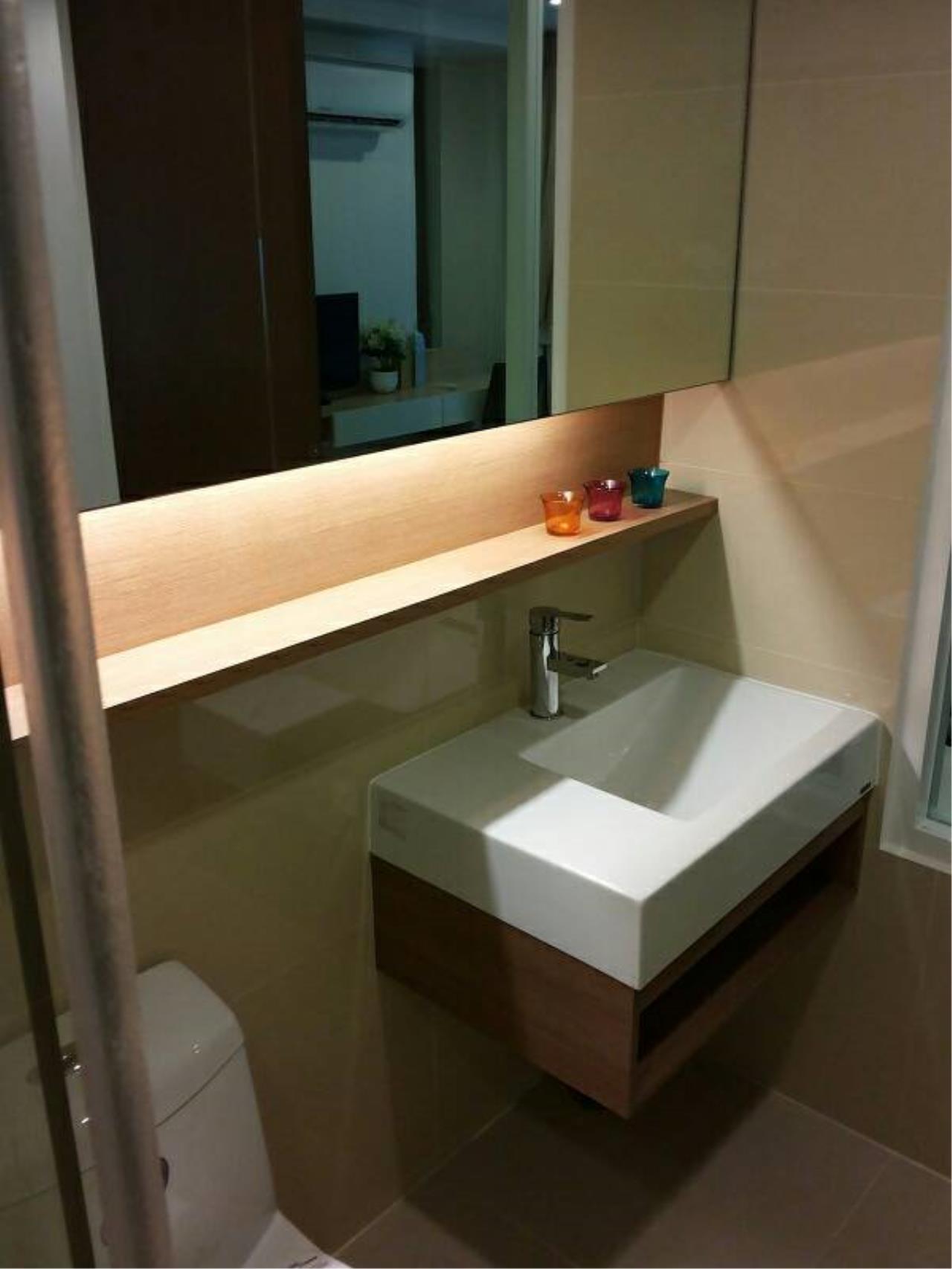 Quality Life Property Agency's FOR RENT! !! 15 SUKHUMVIT RESIDENCES / STUDIO 1 BETHROOM /  10 FLOOR 2