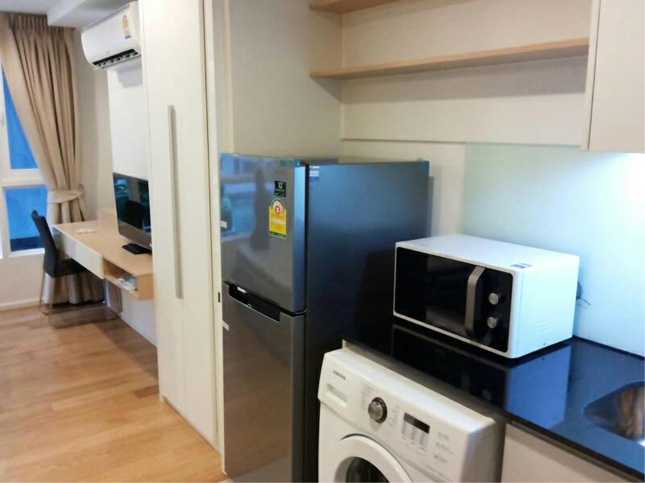 Quality Life Property Agency's FOR RENT! !! 15 SUKHUMVIT RESIDENCES / STUDIO 1 BETHROOM /  10 FLOOR 4