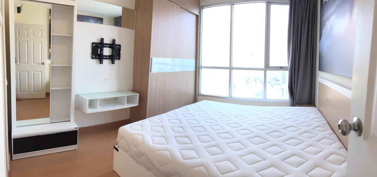Quality Life Property Agency's For Rent!!! Life@Sukhumvit  / 2 Badroom / 25 Floor 10