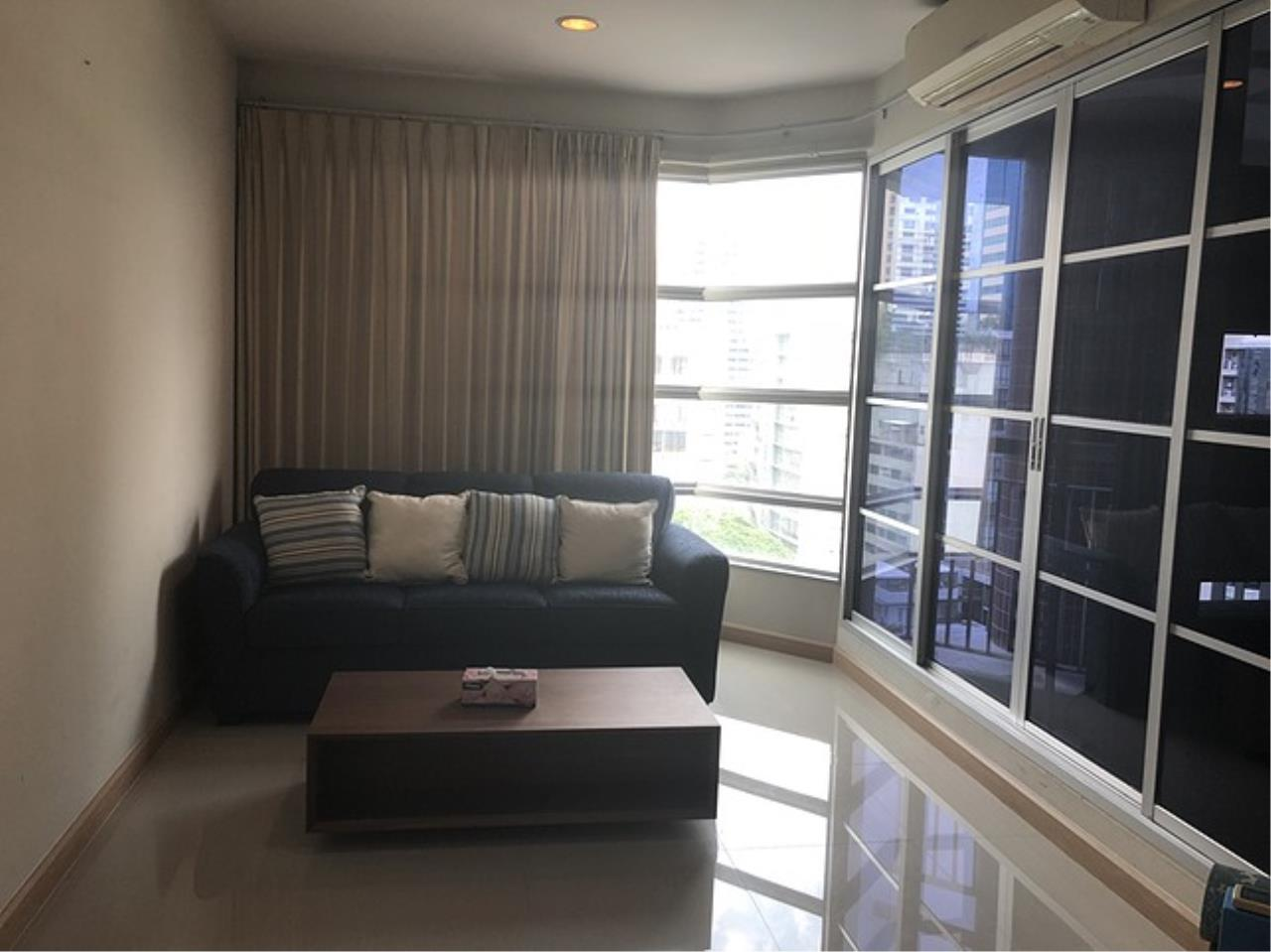 Quality Life Property Agency's R E N T ! CITISMART SUKHUMVIT 18 | 2 BED 2 BATH | 70 SQ. M. 12 FLOOR. 1