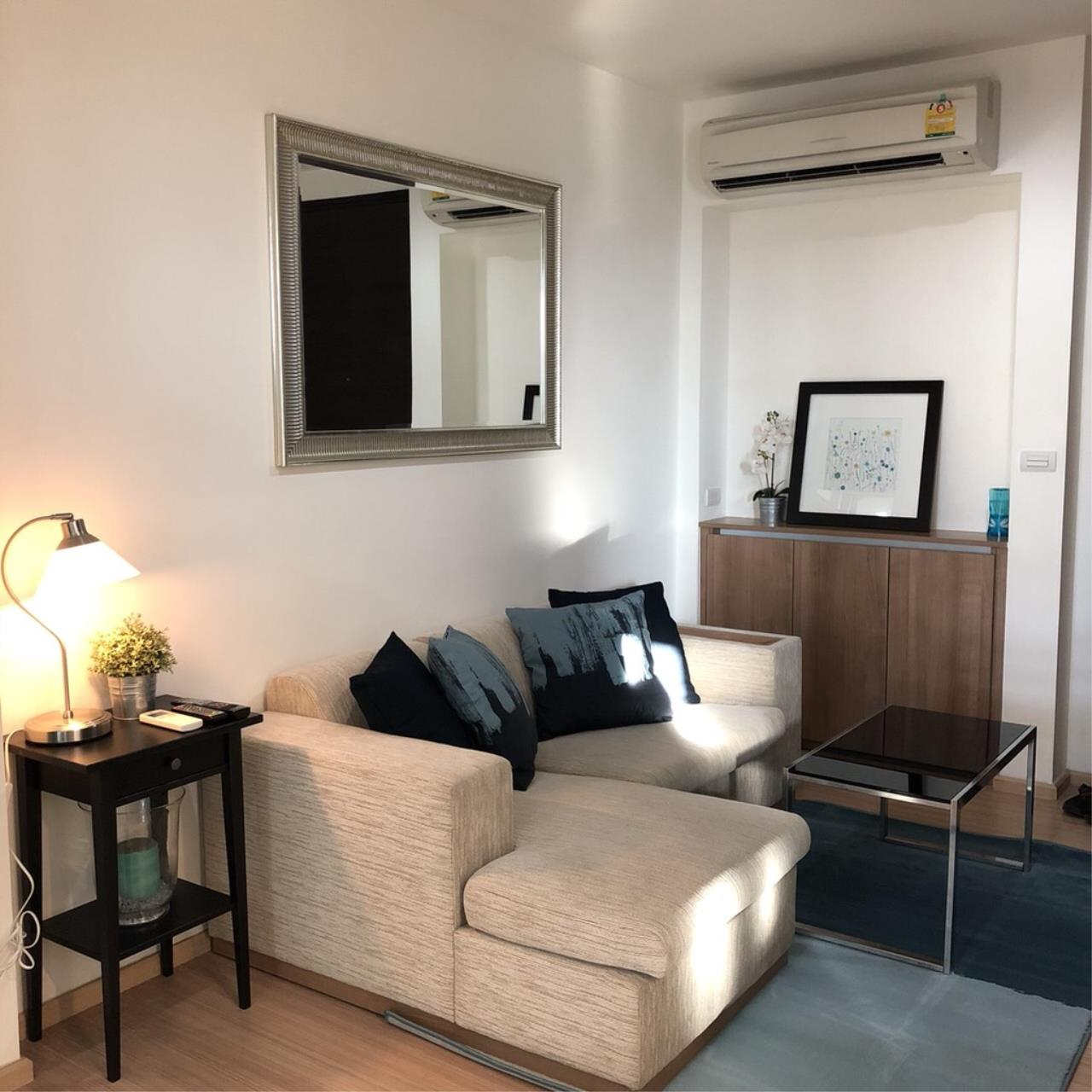 Quality Life Property Agency's For Rent!!! Rhythm Sukhumvit 50 / 1 Bedroom 1 Bathroom / 22 Floor 5
