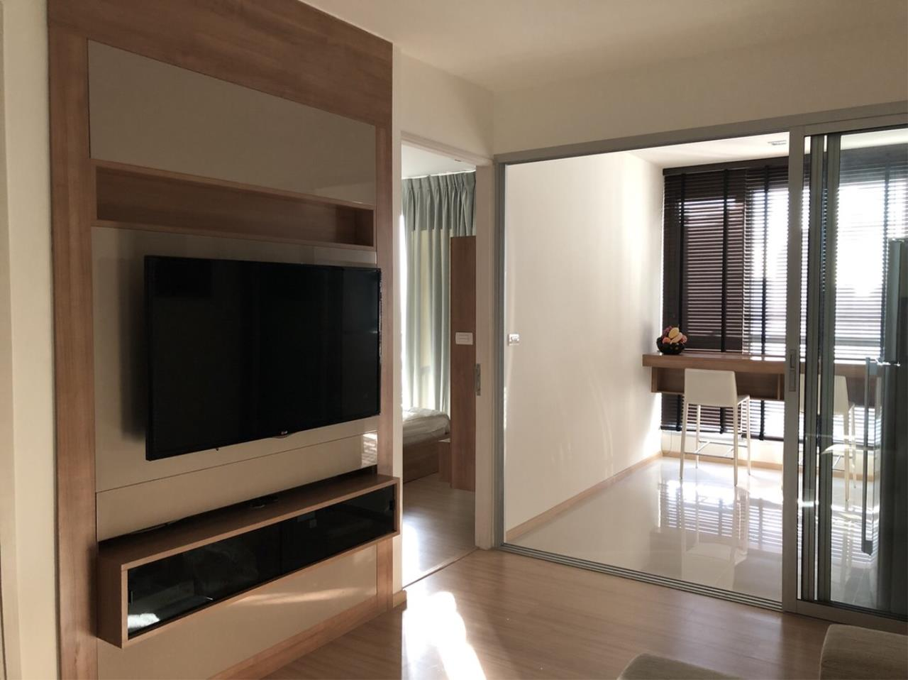 Quality Life Property Agency's For Rent!!! Rhythm Sukhumvit 50 / 1 Bedroom 1 Bathroom / 22 Floor 8