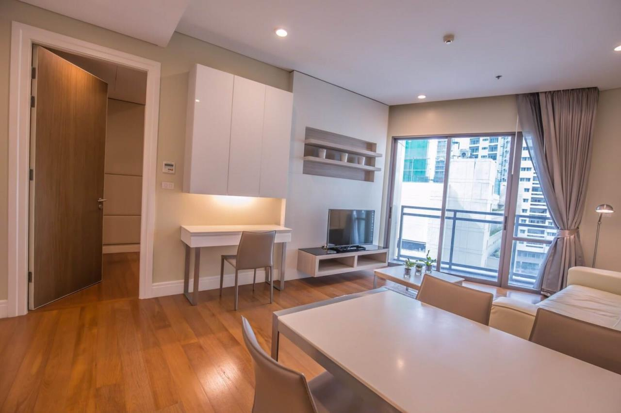 Quality Life Property Agency's For Sale/Rent!!! Bright Sukhumvit 24 / 1 Badroom  / 8 Floor 2