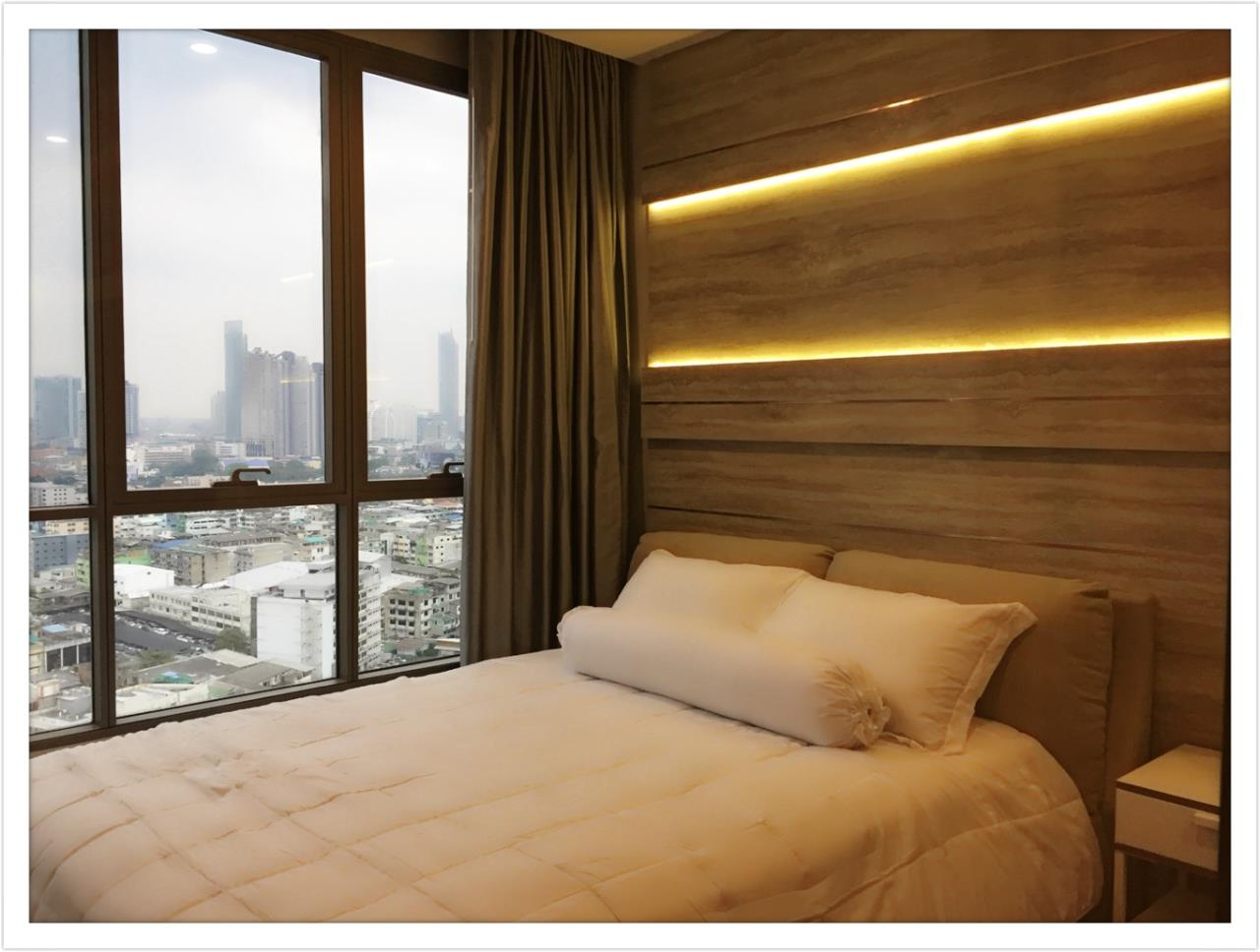 Quality Life Property Agency's For Rent!!! The Room Sathorn - St.Louis  / 1 Badroom  / 21 Floor 1