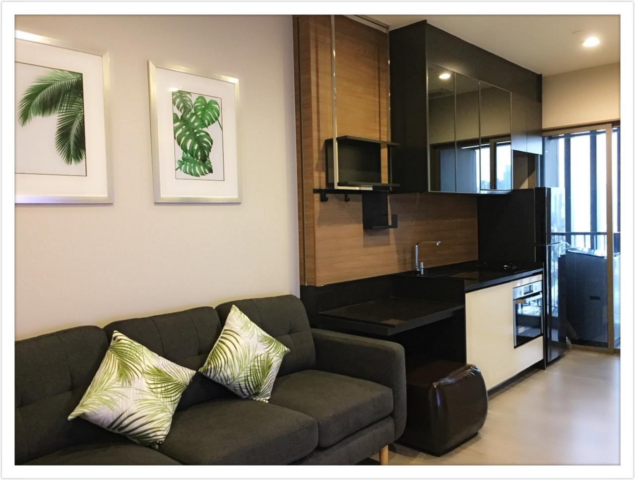 Quality Life Property Agency's For Rent!!! The Room Sathorn - St.Louis  / 1 Badroom  / 21 Floor 2