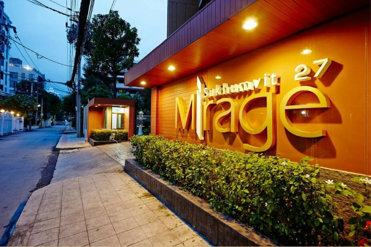 Bestbkkcondos Agency's Mirage Sukhumvit 27 - 35.7 Sqm - for rent: 24.000THB/MONTH - for sell: 5.790.000THB - 1 bedroom, 1 bathroom 10