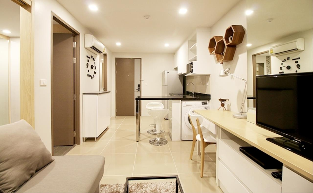 Bestbkkcondos Agency's Mirage Sukhumvit 27 - 35.7 Sqm - for rent: 24.000THB/MONTH - for sell: 5.790.000THB - 1 bedroom, 1 bathroom 1